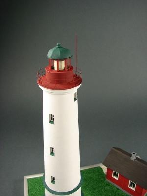 Leuchtturm Marjaniemi Laser Kartonbausatz