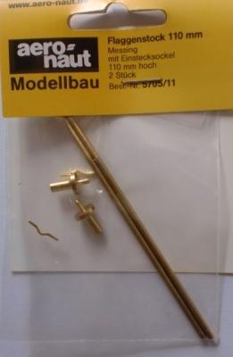 Flaggenstock 110  mm