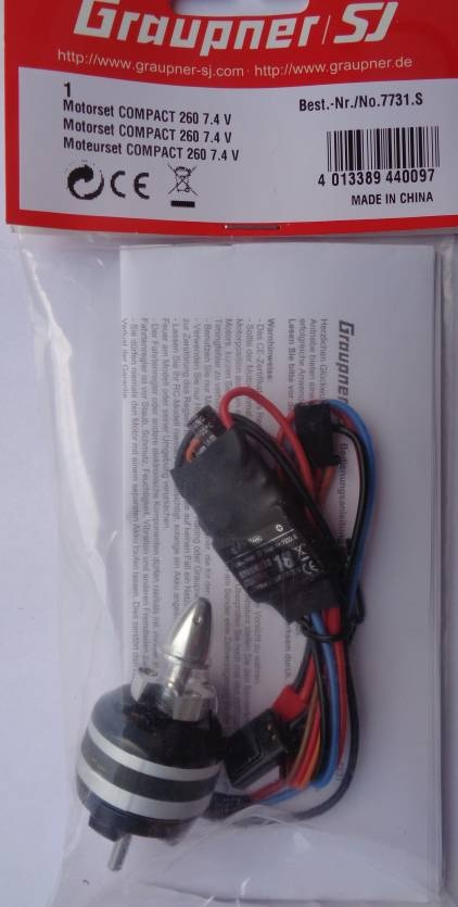 Motorset COMPACT 2607,4 V Timing 25° R