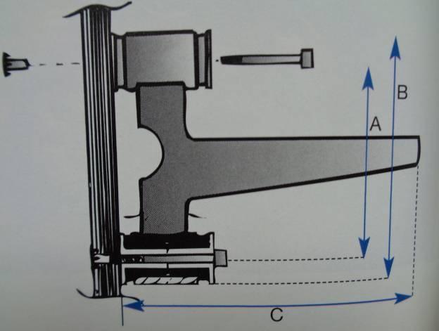 Motorträger f. 75-108 Motore