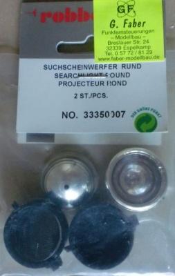 Suchscheinwerfer  Rund , 2 Stick., Ø 25 mm
