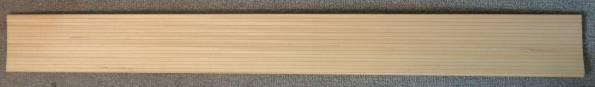 1 Stück Nutbrett (f.Bootsdeck) 10x100 cm, Nutabstand 5 mm