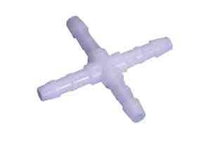 Schlauchverbinder 4mm Kreuz