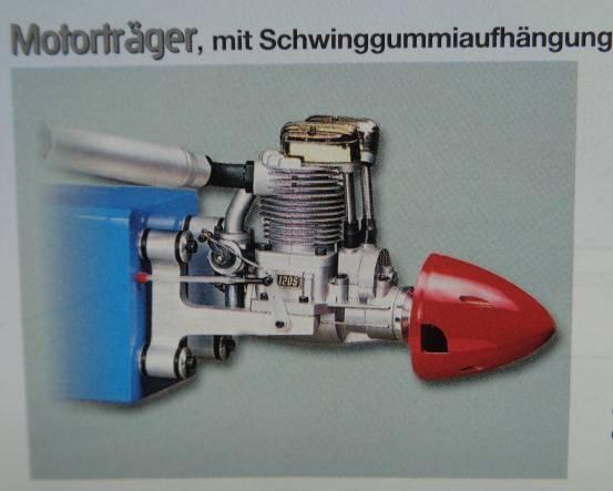Motorträger f. 45-80 Motore