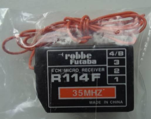 Empfaenger R114F 35 MHz A+B-Band, 4-Kanal-FM-Empf.,