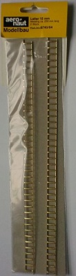 Leiter Messing, 10 mm breit, 25 cm lang, 2 Stück