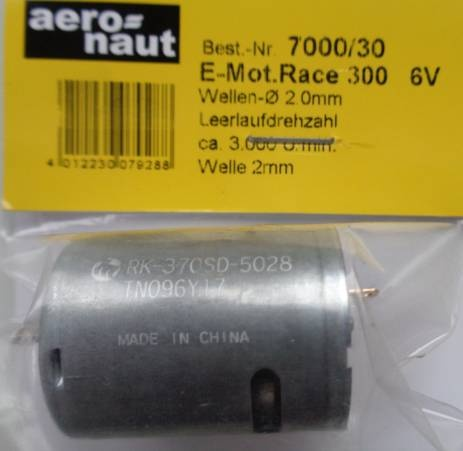 Elektromotor Race 300   6V