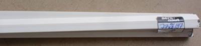 5 Stück Plastikprofil 3-Kant 90° 1000 x 7 mm