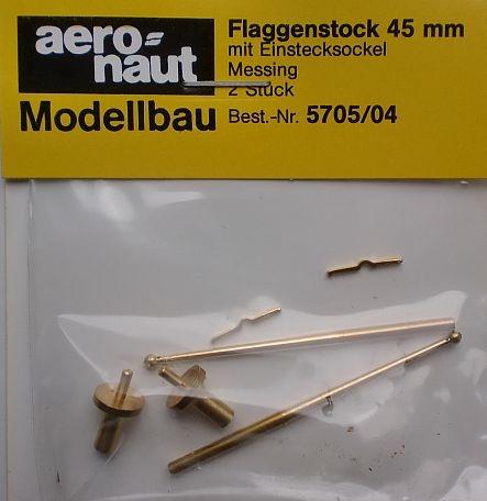Flaggenstock  45mm