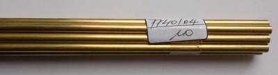 Messingrohr  4.0/2.6 mm, Länge 1 m, 1 Stück