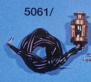 Top- und Mastlaternen 3 V,  Ø 6mm, Höhe 10 mm, grün, 2 Stück