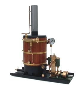 Victor Dampfmaschine vertikal
