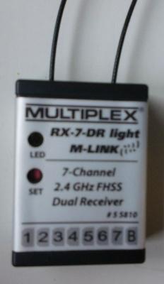 Empfänger RX-7-DR light M-LINK 2,4 GHz