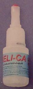 Beli-Zell CA ,  Flasche 20 g, Sekundenklebstoff