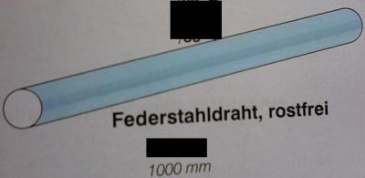 Fantastisch Stahldraht, rostfrei - Faber Modellbau UC46