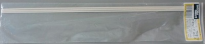 Plastik-T-Profil, 33 cm lg., 2,0x2,0, 0,40 mm breit, 5 Stück