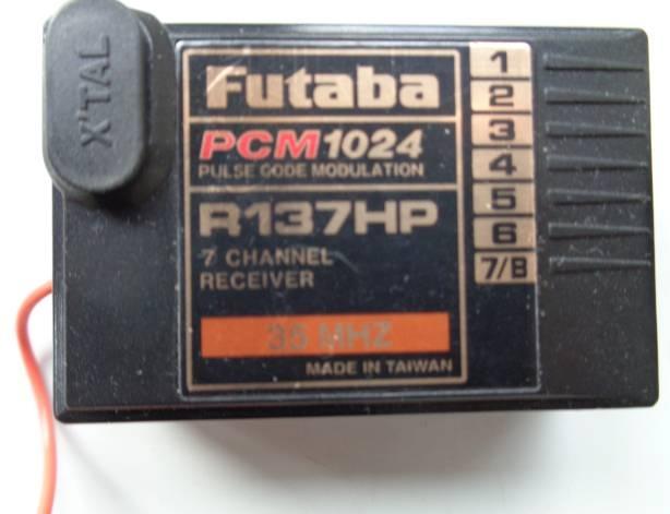 Empfaenger R137HP 35 MHz A+B -Sonderangebot -