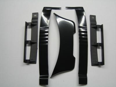 Dachspoiler und Windleitbleche XXL-V8, weiß 8, weiß