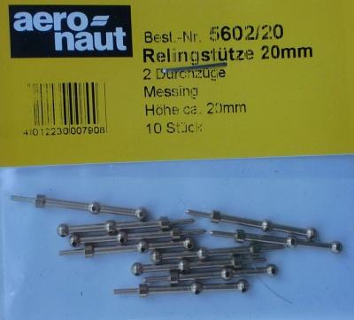 Relingstütze 2D/20mm