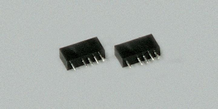 Buchse  5-polig, schwarz, 10 Stück