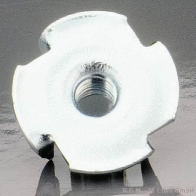 Einschlagmuttern 10St M 3