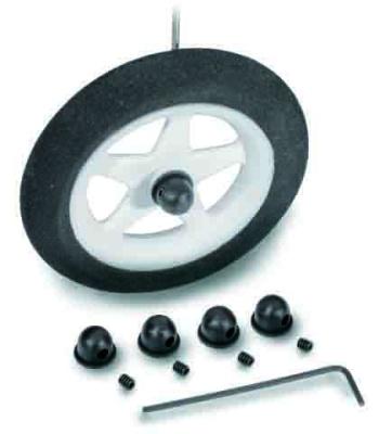Micro-Radhalter für 1,2-1,5mm, 4 Stück