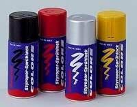 Styropor-Sprühfarben