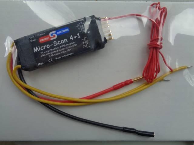 MicroScan 4 + 1, 35 MHz  - Sonderpreis -