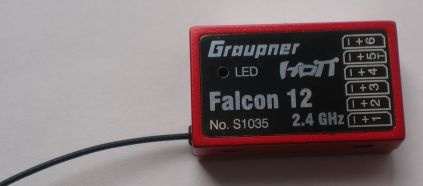 Gyro Empfänger HoTT Falcon 12  - vorerst nicht lieferbar -
