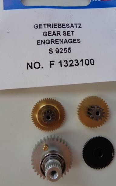 Getriebesatz S9255