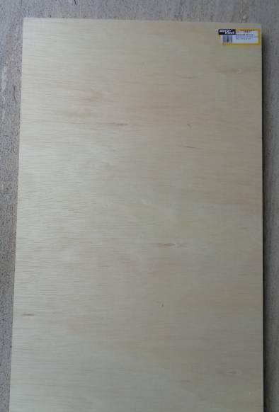 Helling-Baubrett aus Balsasperrholz, 7 Schichten verleimt