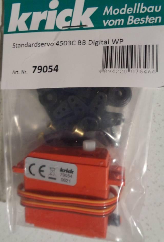 Standardservo 4503C BB Digital WP