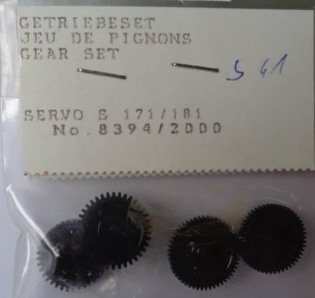 Getriebe für Servo S 171/181