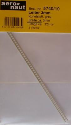 Leiter grau 3x100mm