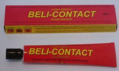 Beli-Contact 40g, - Kontakt-Klebstoff für Hartschäume-
