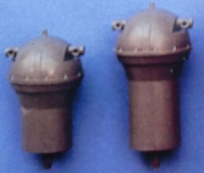 Entfernungsmesser (Plastik) Ø 20 mm, 32 mm hoch, 2 Stück
