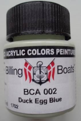 Duck Egg blau 22 ml   Billing Boats Acryl Farbe