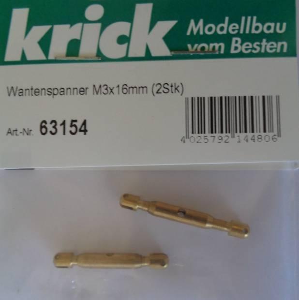 Wantenspanner M3x16mm (2Stk)
