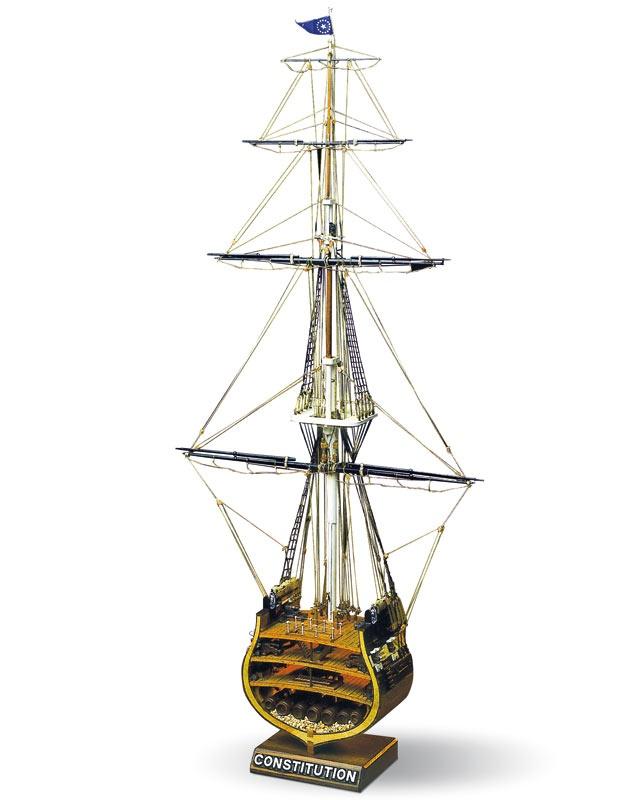 USS Constitution Mast Bausatz, Höhe 66,70 cm