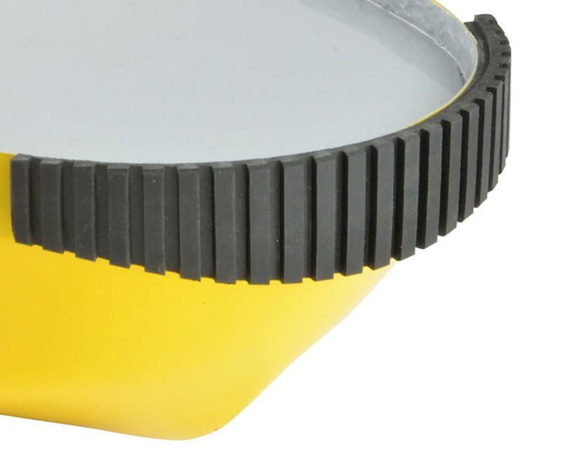 Gummi Bumperplatte 600 x 120 mm grob (VE1) - Neu -