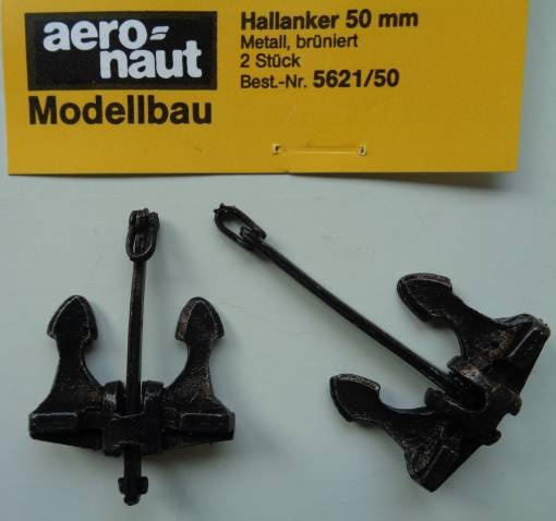 Hallanker 50mm, 2 Stück