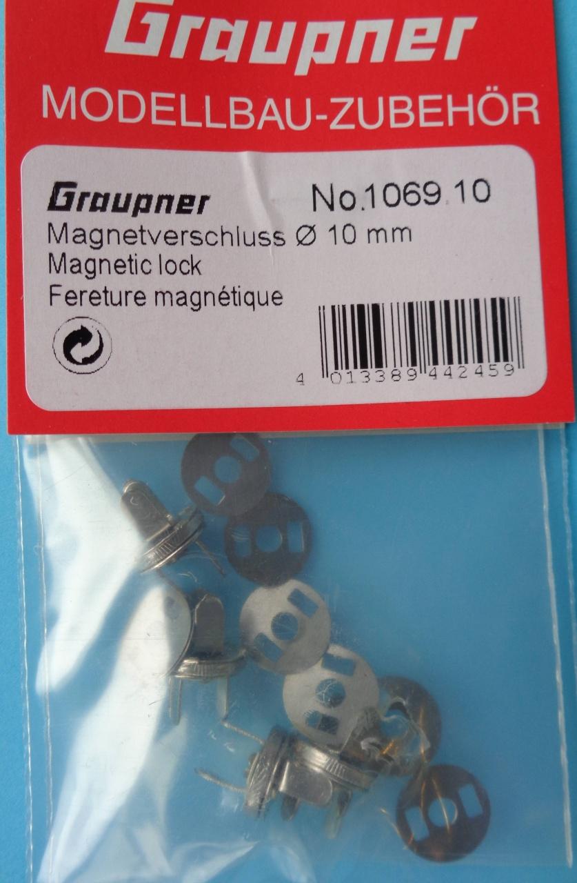 Magnetverschluss Durchm. 10 mm