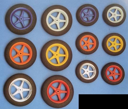 Ultraleicht-Modell-Räder, Ø 45, Breite 9 mm, grau