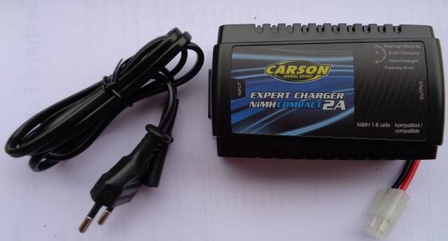 Expert Charger NiMH Compact 2 A + Stromkabel