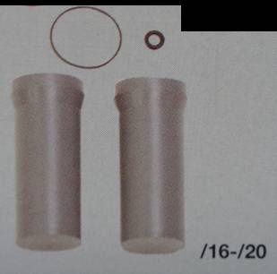 KS-Ersatzrohre zu Querstromruder, Rohr-Ø 16 mm