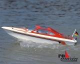Katja Motoryacht Baukasten, Länge 52 cm