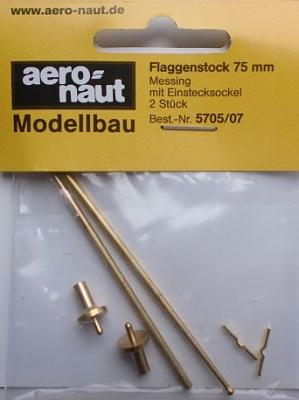 Flaggenstock  75mm