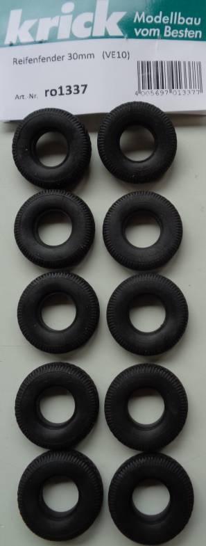Reifenfender 30 mm, 10 Stück