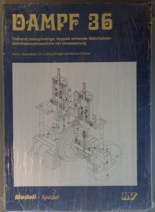Fachbuch Dampf 36  - vorrätig -