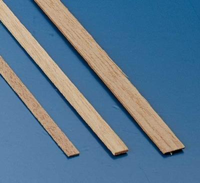 Tanganjicaleisten 0,5 x 4 mm, 1 m lang, 10 Stück